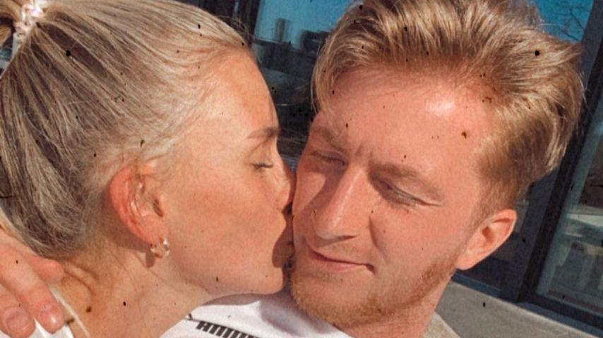 Seltener Anblick: Scarlett postet Knutsch-Pic mit Marco Reus