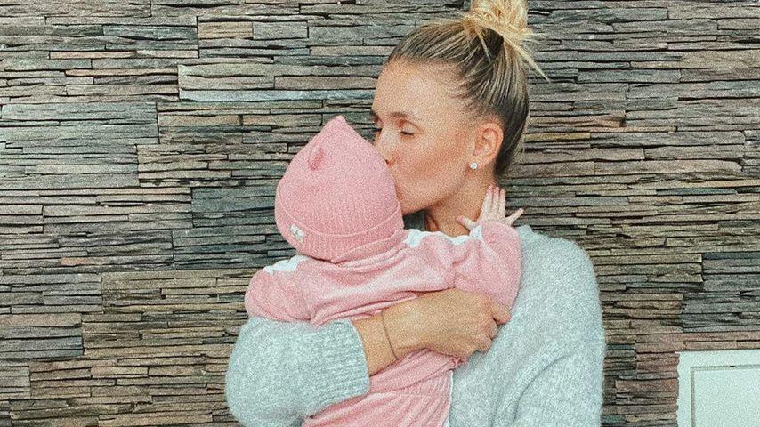 Scarlett Gartmann und ihre Tochter, März 2020