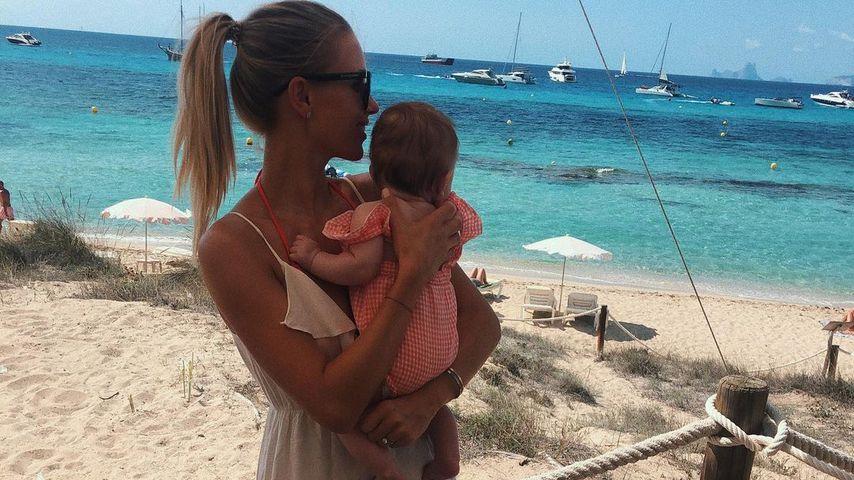 Scarlett Gartmann mit ihrer Tochter