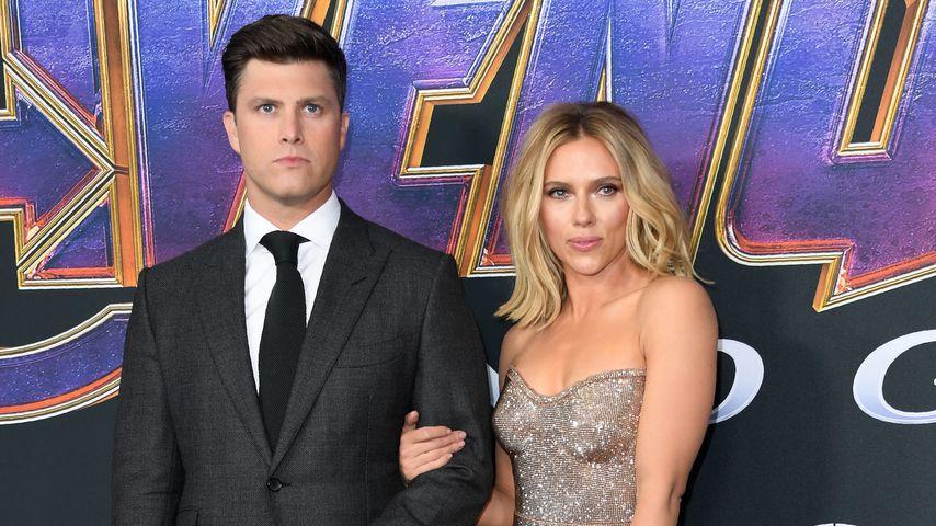 """Scarlett Johansson mit Colin Jost auf der """"Avengers: Endgame""""-Premiere 2019"""