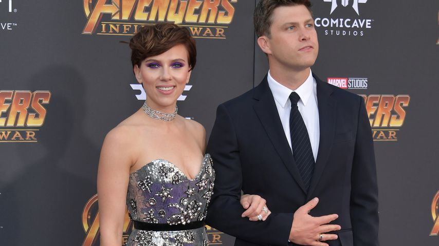 Scarlett Johansson und Colin Jost in Los Angeles, Kalifornien