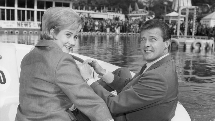 Schauspiel-Legenden Liz Fraser und Roger Moore