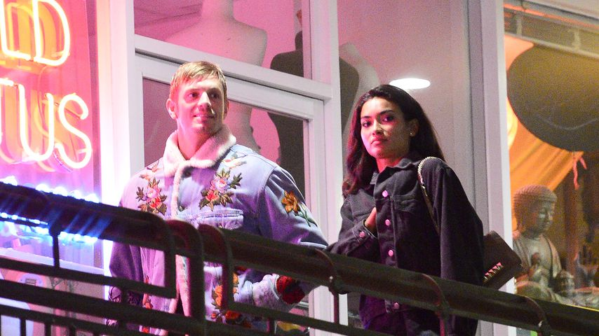 Schauspieler Joel Kinnaman und Kelly Gale in Los Angeles