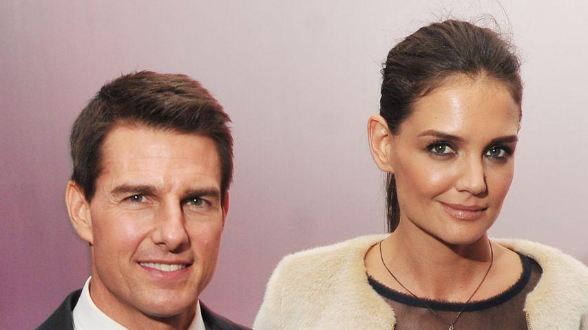 Schauspieler Tom Cruise und Katie Holmes
