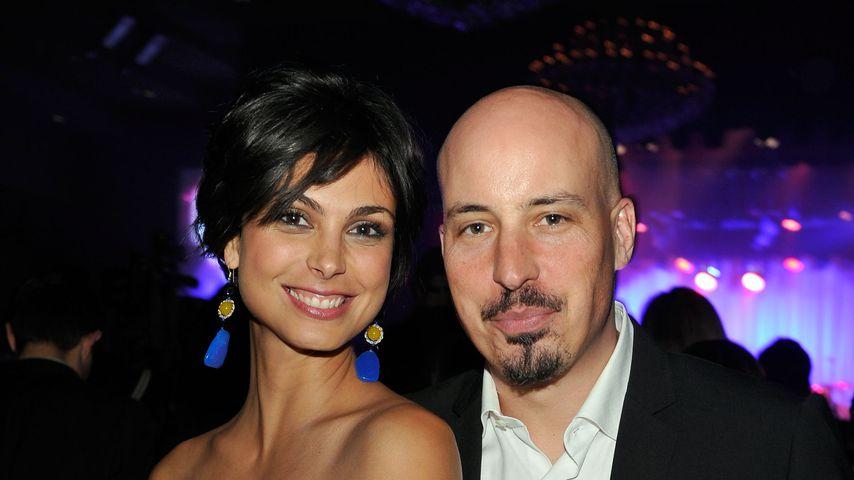 Schauspielerin Morena Baccarin und Austin Chick