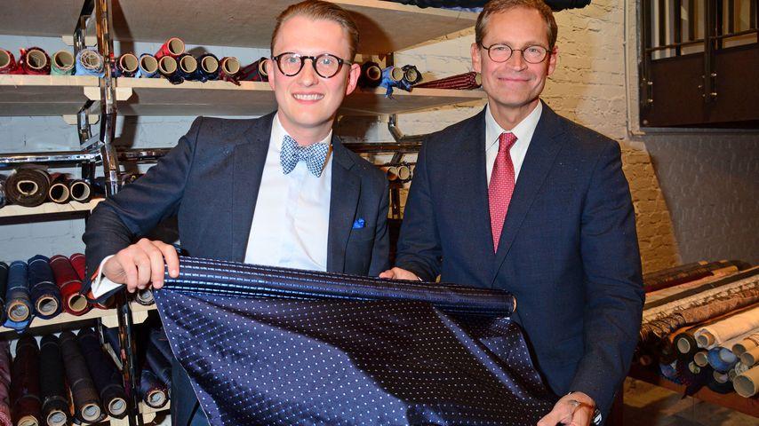Berliner Krawatten-König lädt Prominenz zum Eröffnungsfest