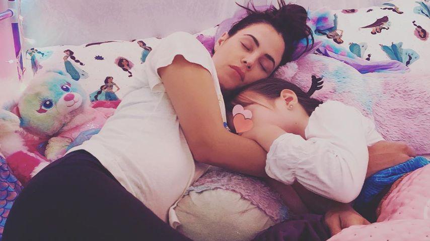 Schwangere Jenna Dewan mit ihrer Tochter Everly, September 2019