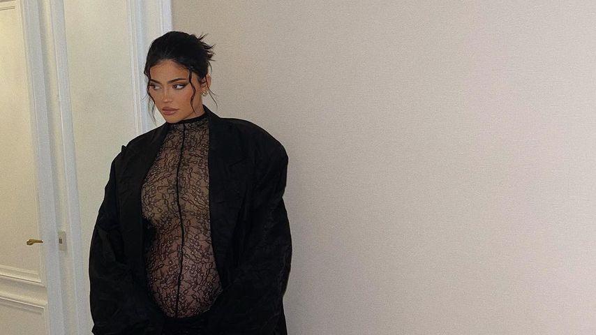 Schwangere Kylie kopiert Kim Kardashians Babybauch-Style