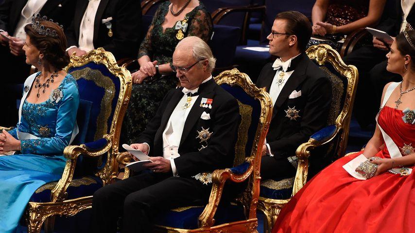 Alle vereint: Schwedens Royals beim Nobelpreis