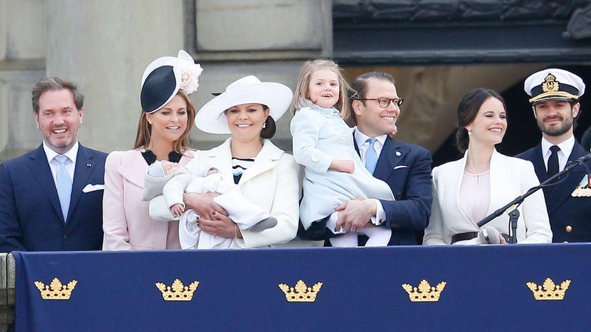 Madeleine von Schweden, Prinzessin Estelle von Schweden, Sofia Hellqvist, Prinzessin Victoria von Sc