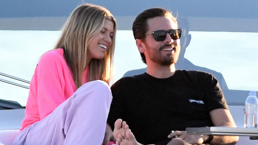 Scott Disick und Sofia Richie, November 2019