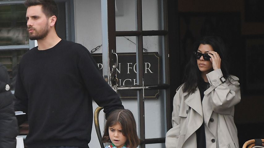 Scott Disick mit seiner Tochter Penelope und Ex Kourtney Kardashian