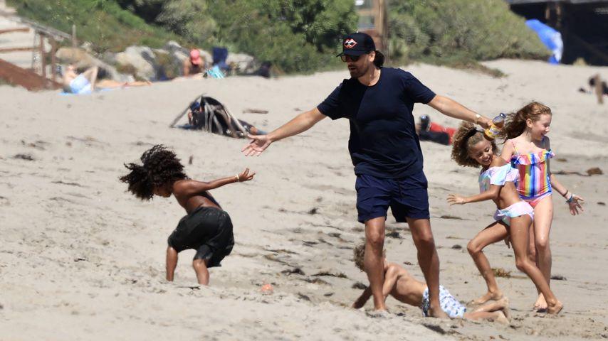 Scott Disick und die Kardashian-Kinder im Juli 2020