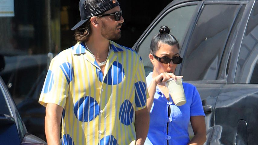 Scott Disick und Kourtney Kardashian im Juli 2020 in Malibu