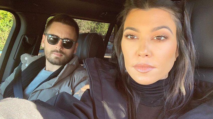 Scott Disick und Kourtney Kardashian im April 2019