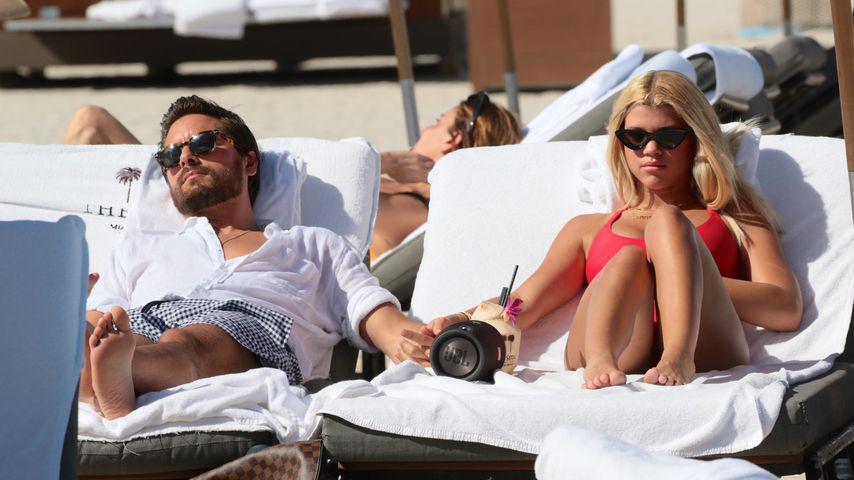 Scott Disick und Sofia Richie im Miami-Urlaub