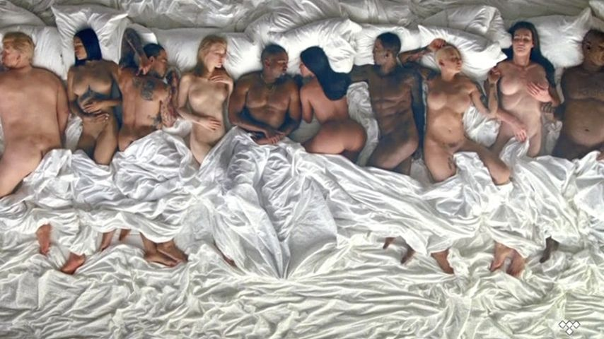 Nackt-Video: Kanye West im Bett mit Taylor Swift & Co.