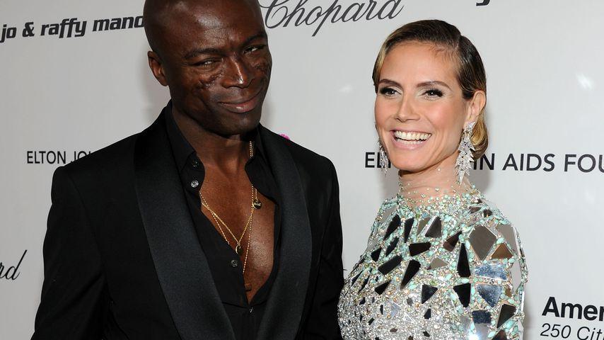 Seal und Heidi Klum, 2011
