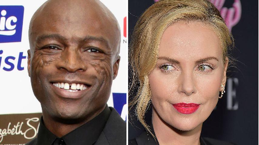 Traumpaar-Potenzial: Geht was bei Seal und Charlize Theron?