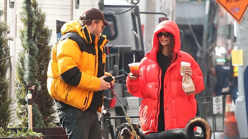 Sebastian Bear-McClard und Emily Ratajkowski in New York