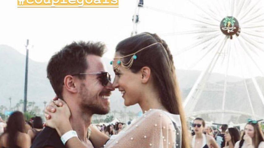 Couple-Goals: Sebastian Pannek & Clea verliebt bei Coachella