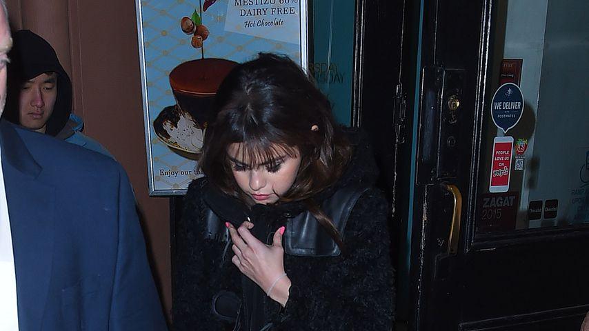 Sängerin Selena Gomez in New York