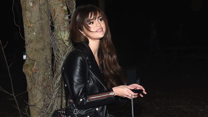 Selena Gomez bei der New York Fashion Week