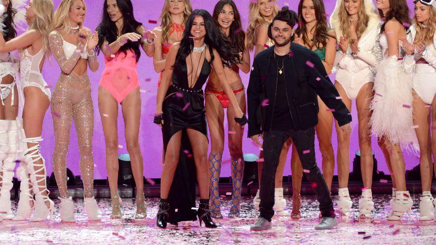 """Selena Gomez und The Weeknd bei der """"Victoria's Secret""""-Show 2015"""