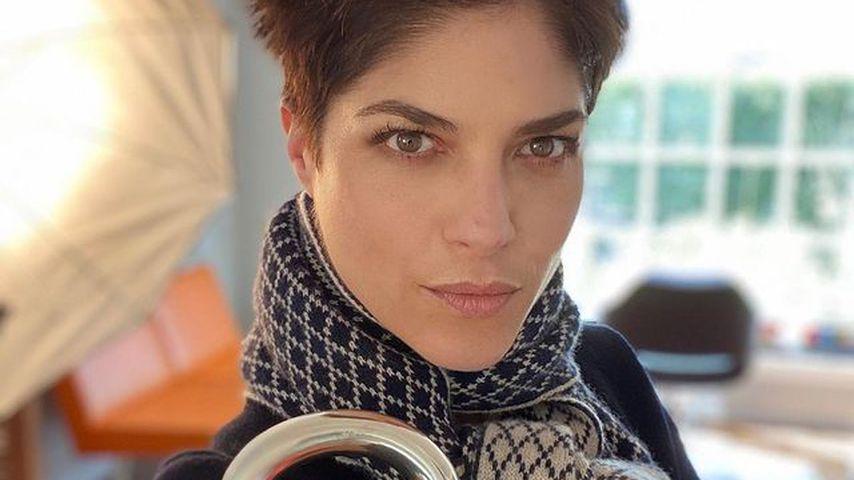 Selma Blair beim Friseur