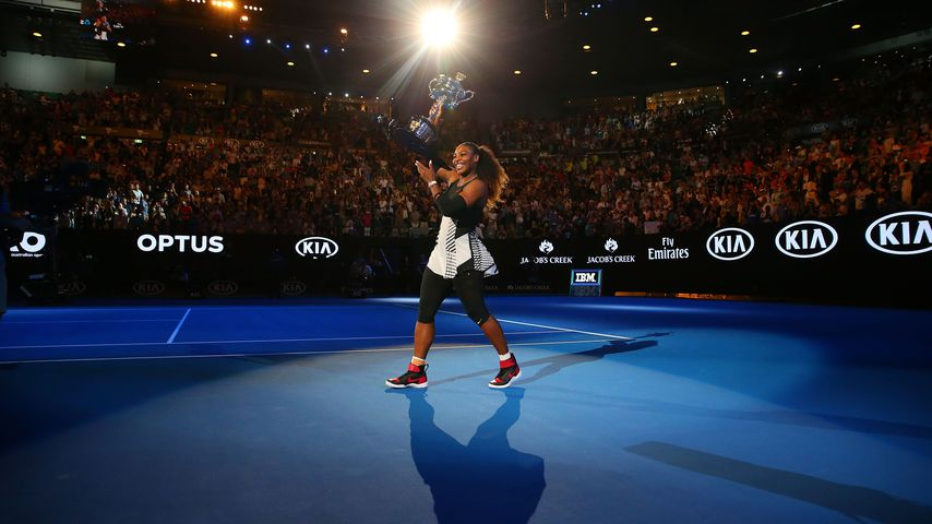 Serena Williams bei den Australian Open 2017