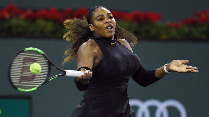 Serena Williams bei ihrem Comeback