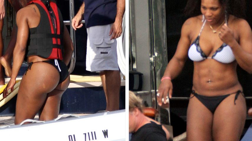Serena Williams total knackig im Bikini!