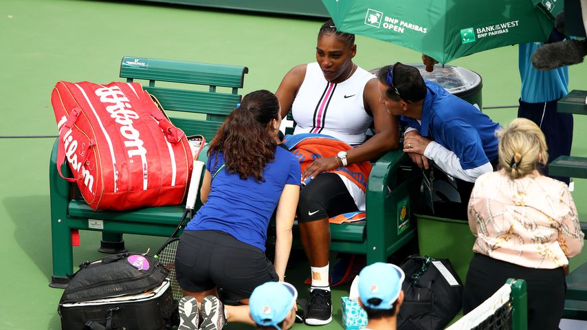 Serena Williams in Indian Wells, 2019