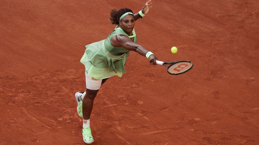 Serena Williams bei den French Open in Paris im Juni 2021