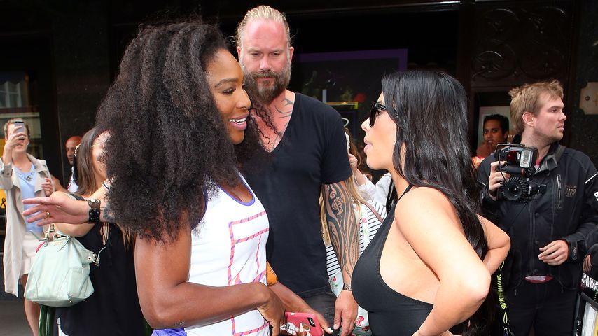 Kim Kardashian und Serena Williams