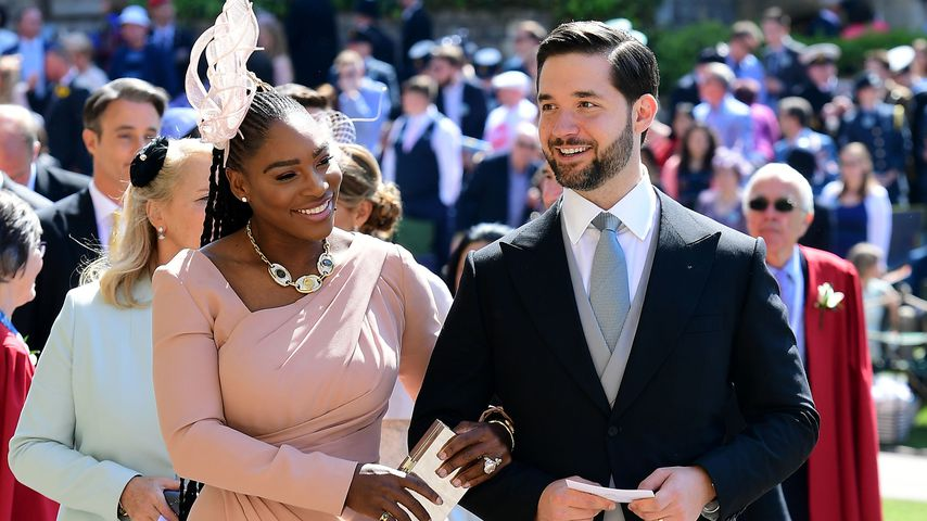 Serena Williams und Alexis Ohanian bei der Royal Wedding auf Schloss Windsor