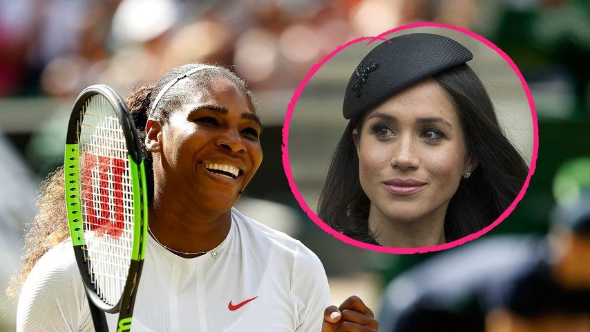 """""""Viel durchgemacht"""": So schwärmt Serena Williams von Meghan"""