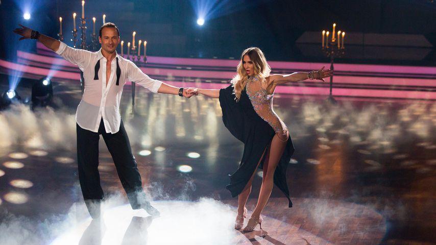 "Sergiu Luca und Ann-Kathrin Brömmel bei ""Let's Dance"""