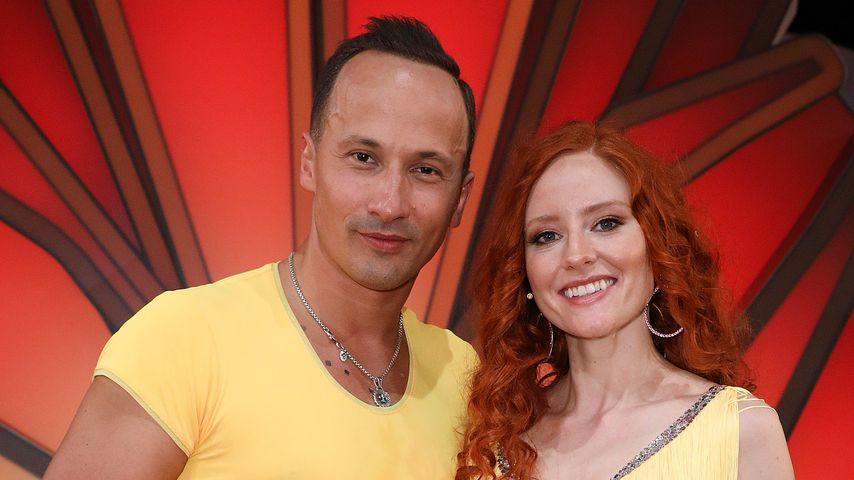 """Sergui Luca und Barbara Meier bei der achten """"Let's Dance""""-Liveshow"""
