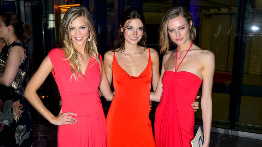 Serlina, Celine und Maja bei den GreenTec-Awards in Berlin