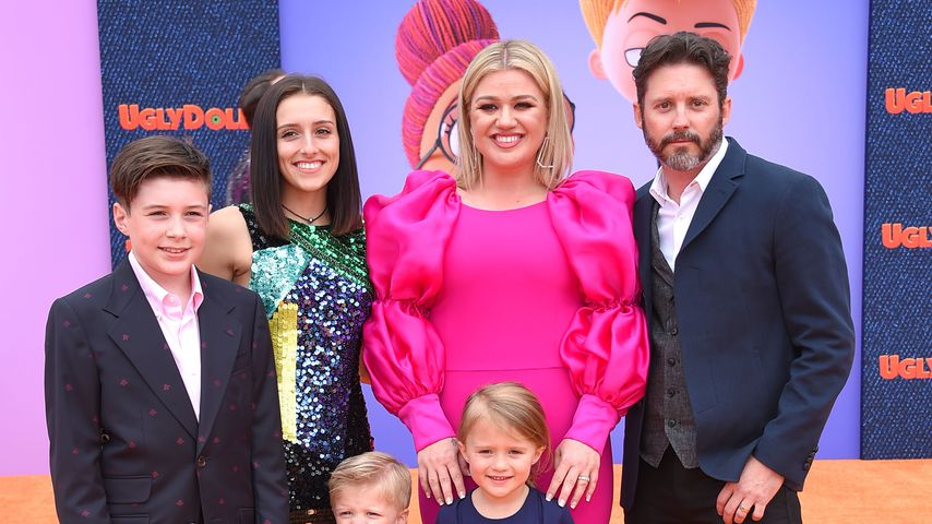 Seth Blackstock, Remington Alexander Blackstock, Savannah Blackstock, Kelly Clarkson, River Rose Bl
