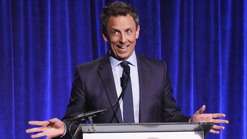 Große Freude: Late-Night-Host Seth Meyers wird endlich Papa