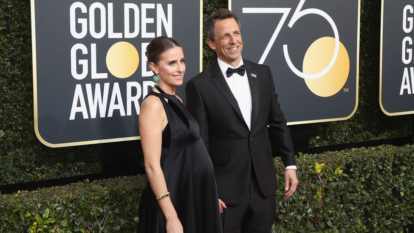 TV-Host Seth Meyers: Ehefrau bekommt Baby in Apartment-Lobby