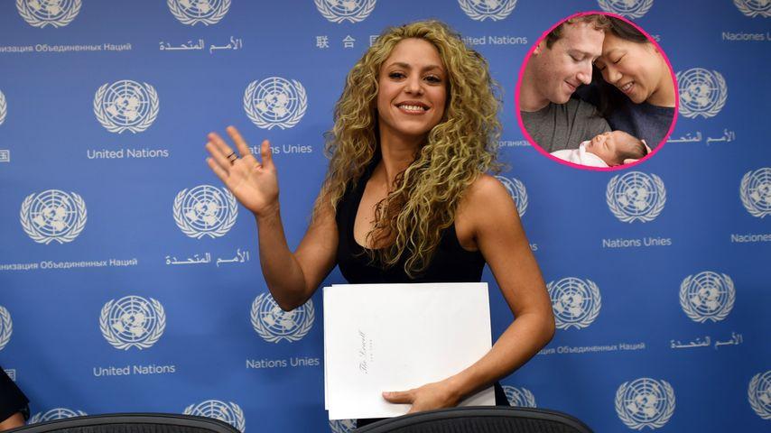 """""""Glückliches Baby"""": Shakira begrüßt die Zuckerberg-Tochter"""