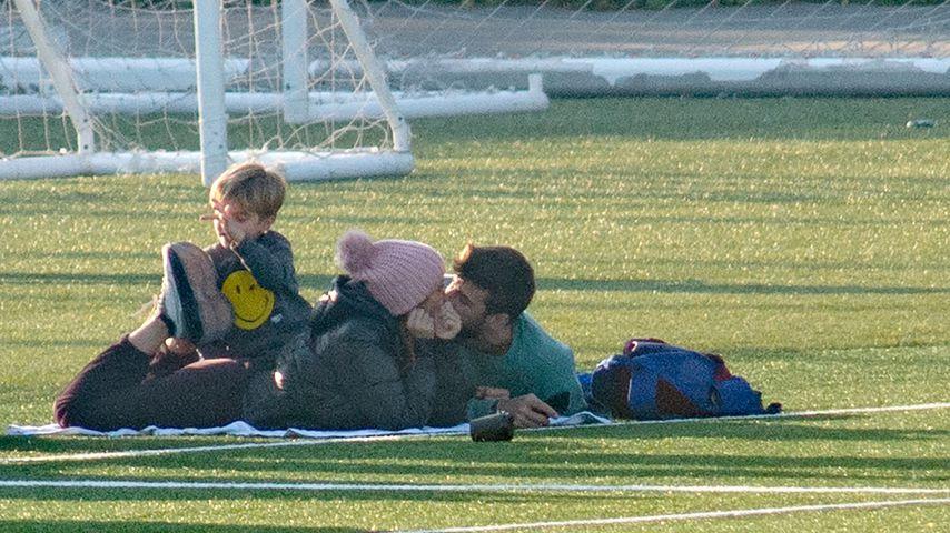 Von wegen Krise: Shakira total verschmust mit ihrem Gerard