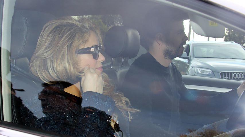Hier bringen Shakira & Gerard ihr Baby nach Hause!