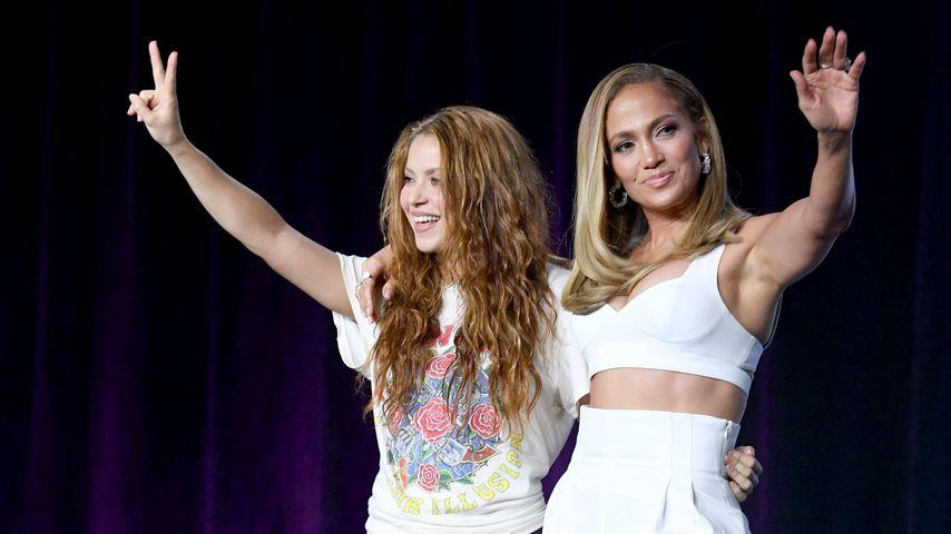 Schick vs. lässig: So starten Shakira & J.Lo den Super Bowl