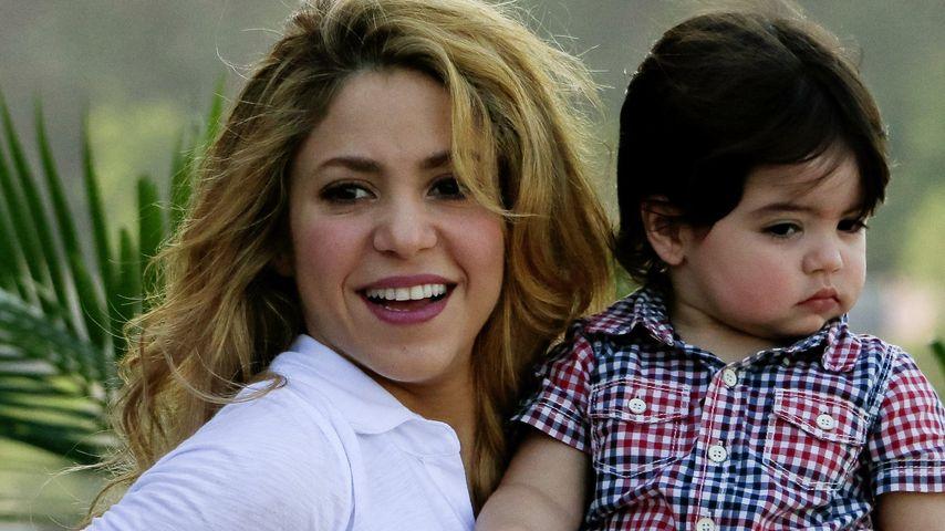 Shakira: Söhnchen Milan macht sie gaaanz entspannt