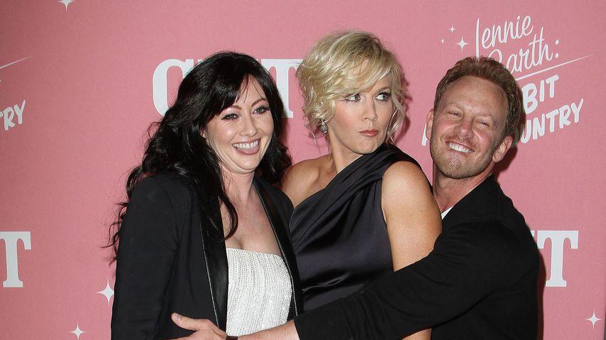 Shannen Doherty, Jennie Garth und Ian Ziering