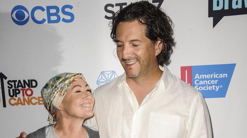 Shannen Doherty mit Ehemann Kurt auf dem roten Teppich